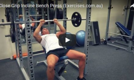 Close Grip Incline Bench Press