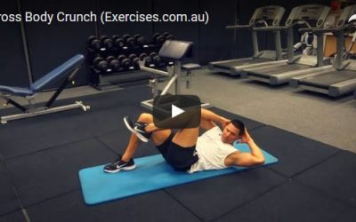 Cross Body Crunch