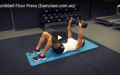 Dumbbell Floor Press