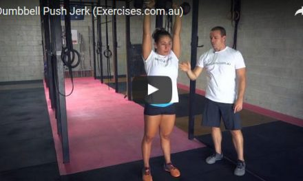 Dumbbell Push Jerk
