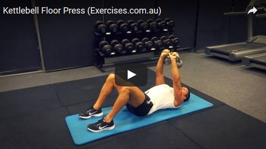 Kettlebell Floor Press