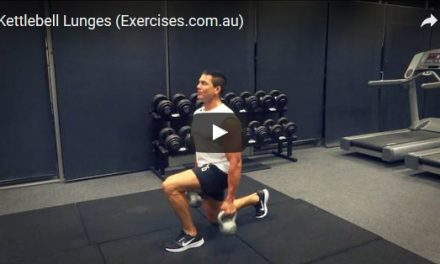 Kettlebell Lunges