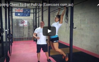 Kipping Chest To Bar Pull Up