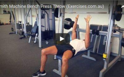 Smith Machine Bench Press Throw