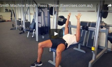 Smith Machine Bench Press Throw