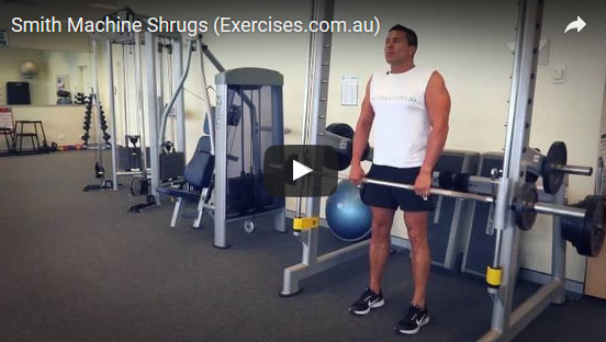 Smith Machine Shrugs