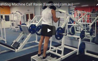 Standing Machine Calf Raise