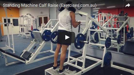 Standing Machine Calf Raise
