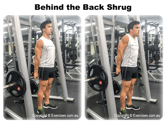 Behind the Back Shrug
