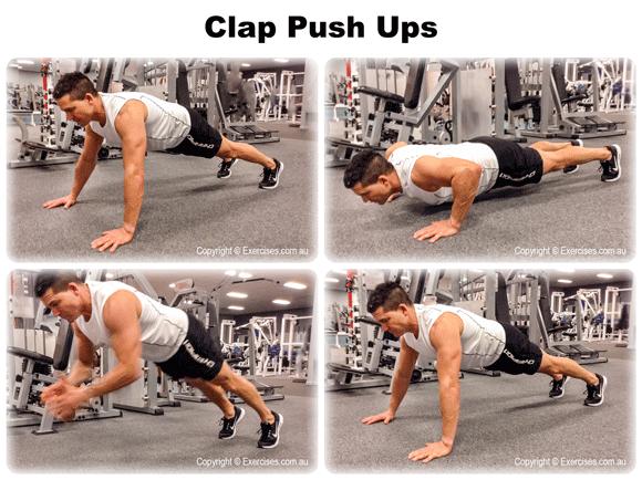 Clap Push Ups