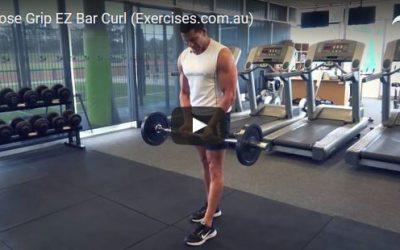 Close Grip EZ Bar Curl