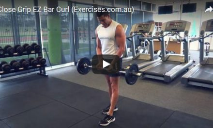 Close Grip EZ Bar Curl