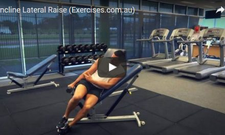 Incline Lateral Raise