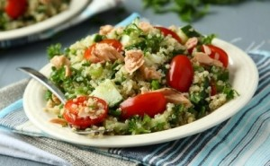 Salmon, Avocado And Quinoa Salad Recipe