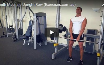 Smith Machine Upright Row