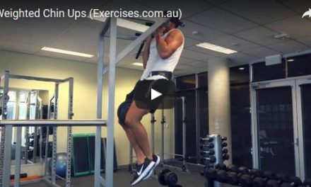 Weighted Chin Ups