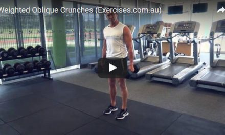 Weighted Oblique Crunches
