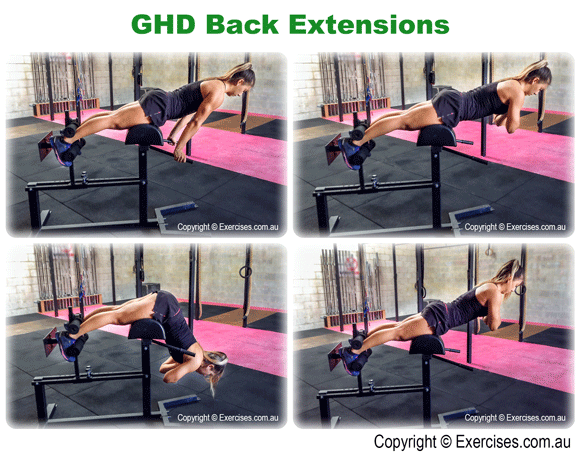 GHD Back Extensions