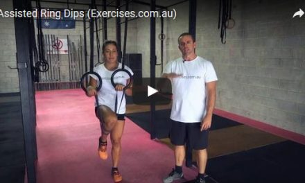 Assisted Ring Dips