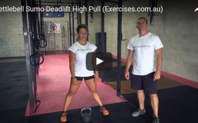 Kettlebell Sumo Deadlift High Pull