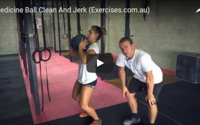 Medicine Ball Clean And Jerk