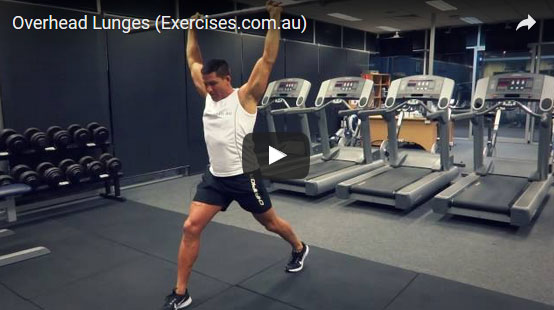 Overhead Lunges