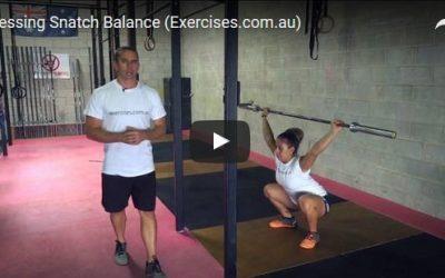 Pressing Snatch Balance