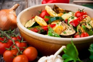 Spicy Roast Vegetable Salad Recipe