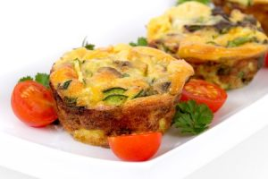 Mushroom And Kale Breakfast Egg Muffin