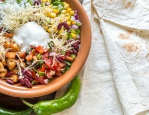 Chipotle Burrito Bowl Salad