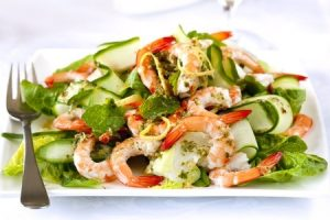 Prawn, Avocado and Watercress Salad