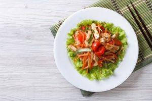 Thai Lemongrass Chicken Salad