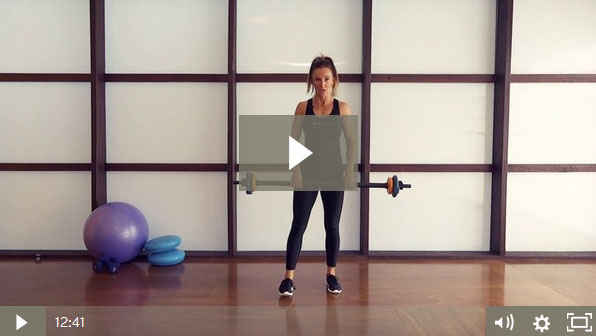 Barbell Full Body Circuit (12 mins)