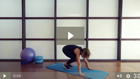 Bodyweight Intermediate HIIT Workout (12 mins)
