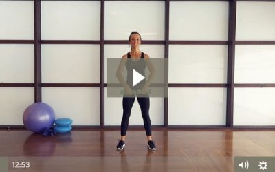 Dumbbell Upper Body HIIT Workout (12 mins)