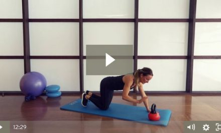 Kettlebell Ab Workout (12 mins)