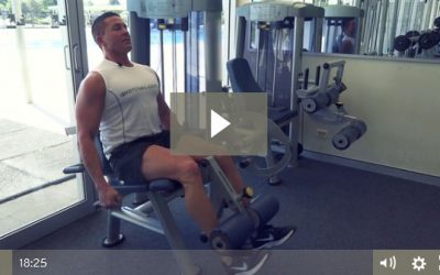 Quads, Glutes & Hamstring Muscle Building Workout (Pyramids & TUT)
