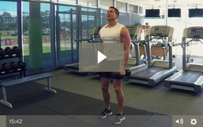Shoulder Workout For Muscle Building (Pyramids & TUT)