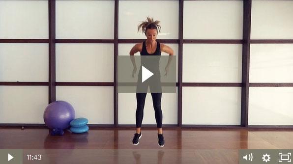 Squat HIIT Workout (12 mins)