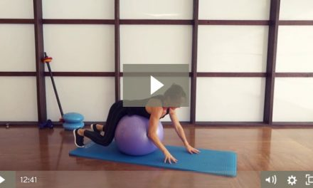 Stability Ball Workout (12 mins)