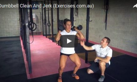 Dumbbell Clean And Jerk