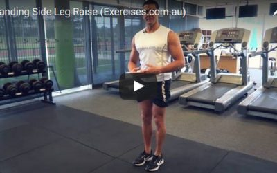 Standing Side Leg Raise