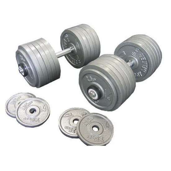 120kg Cast Iron Dumbbells Australia