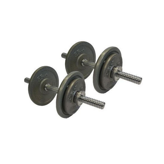 20kg Cast Iron Adjustable Dumbbells Australia