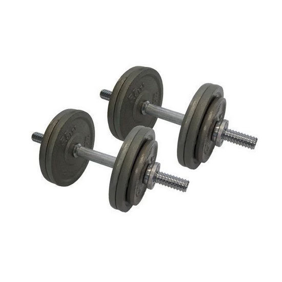 30kg Cast Iron Adjustable Dumbbells Australia