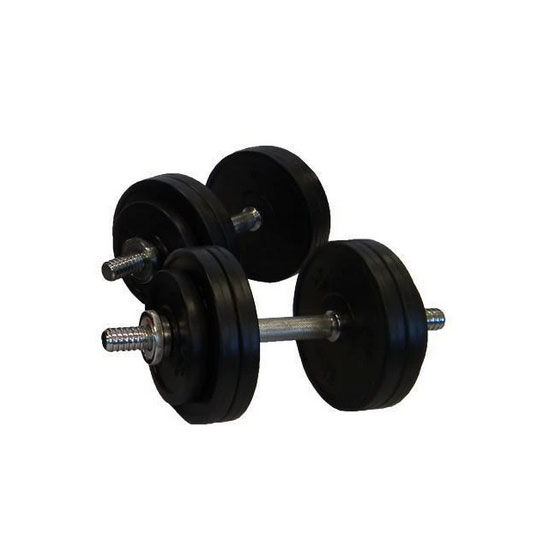 30kg Rubber Adjustable Dumbbells Australia