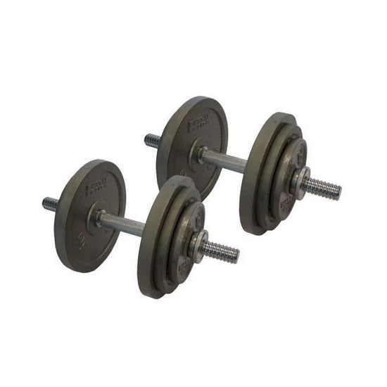 40kg Cast Iron Adjustable Dumbbells Australia