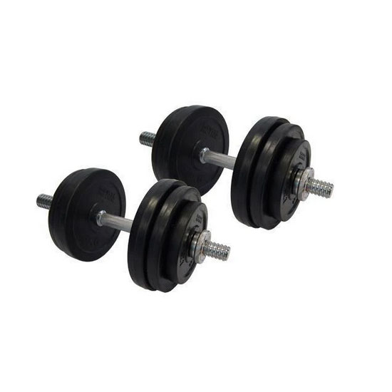 40kg Rubber Adjustable Dumbbells Australia