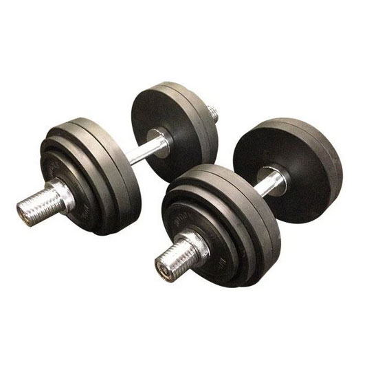 67kg Cast Iron Adjustable Olympic Dumbbell Australia